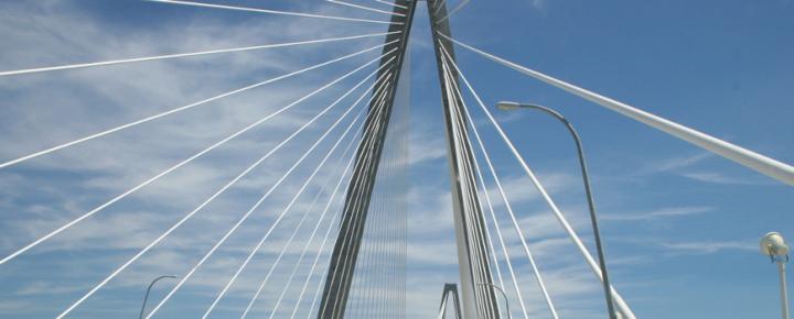 Ravenel Bridge Sky